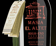 Masia El Altet, High End aceite de oliva