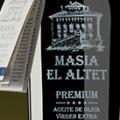 Masia El Altet, Premium aceite de oliva