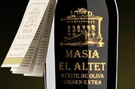 Masia El Altet, High Quality aceite de oliva