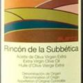 Rincón de la Subbética Aceite Oliva