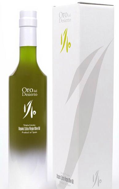 Oro del Desierto aceite de oliva biologico