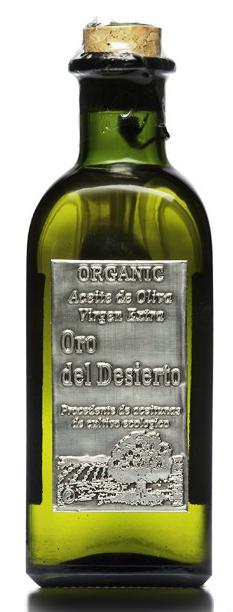Oro del Desierto coupage aceite de oliva biologico